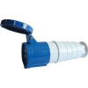 Tracon Electric Ipari csatlakozó lengőaljzat, fokozott védelemmel - 63A, 250V, 2P+E, IP67 TICS-233 - Tracon