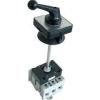 Tracon Electric Szakaszoló kapcsoló ajtókupplunggal - 400V, 50Hz, 80A, 3P, 22kW, 64x64mm TS-803K - Tracon