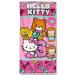 Hello Kitty törölköző, 70x140 cm