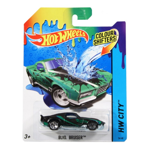 Hot Wheels City: színváltós Blvd Bruiser kisautó