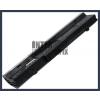 Eee PC 1001PQD 4400 mAh 6 cella fekete notebook/laptop akku/akkumulátor utángyártott