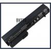 COMPAQ Business Notebook nc2400 4400 mAh 6 cella fekete notebook/laptop akku/akkumulátor utángyártott