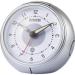 Eurochron Rádiójel vezérlésű ébresztőóra, szürke/fehér, Eurochron