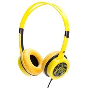 iDance Free 30 fejhallgató, sárga