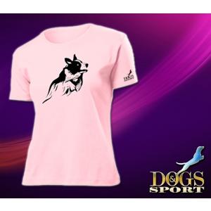 Dogs & Sport Border collie női póló (Női rövid ujjú póló )