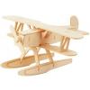 Eureka Gepetto's Workshop - Hidroplán - 3D fapuzzle