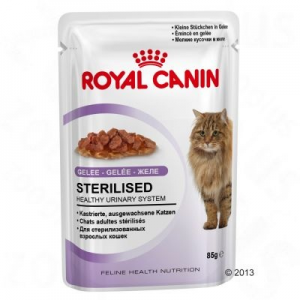 Royal Canin Sterilised aszpikban - 12 x 85 g