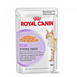 Royal Canin Sterilised szószban - 12 x 85 g