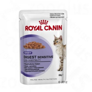 Royal Canin Digest Sensitive szószban - 12 x 85 g
