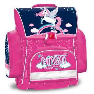 Ars Una Ninon szivárvány póni ergonomikus iskolatáska hátizsák