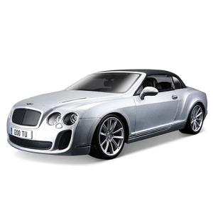 BBurago : Bentley Continental Supersports autó ezüst színben 1/18