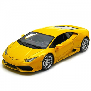 BBurago : Lamborghini Huracán LP 610-4 autó sárga színben 1/18