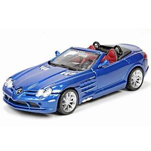 BBurago : Street Tuners Mercedes SLR McLaren Roadster fém autó 1/32