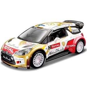 BBurago : Citroen Rally DS3 WRC (Mikko Hirvonen) fém autó 1/32