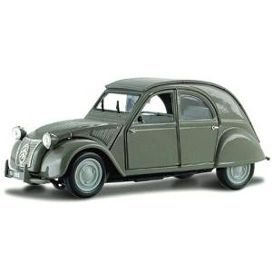 BBurago Street Classics: Citroen 2CV (1952) fém autó 1/32