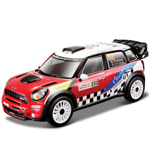 BBurago : Rally Mini WRC (Pierre Campana) fém autó 1/32