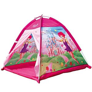 Bino Toys Rózsaszín tündéres kerti játszósátor