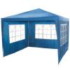 Kerti pavilon 3 oldalfallal 3x3 m kék