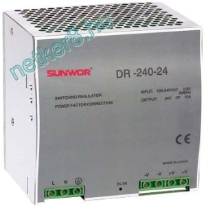 SUNWOR DRP-240-12 tápegység