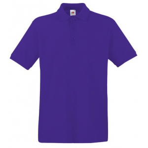 Fruit of the Loom 63-218 PREMIUM galléros póló PURPLE S-XXXL