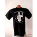 II. világháborús honvéd póló - fekete színben