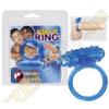 YOU2TOYS Tiszta szilikon péniszgyűrű - kék