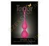ToyJoy Sphere 2 stimuláló gésagolyó - rózsaszín kéjgolyó