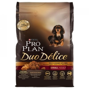 Pro Plan Duo Delice Small Breed - 3 x 2,5 kg