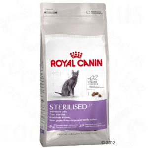 Royal Canin Sterilised 37 - 10 kg + 2 kg ingyen!