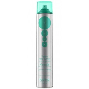 Kallos Hair Spray Extra Strong Hold With Keratin Női dekoratív kozmetikum Extra erős Hajlakk kreatinnal 750ml