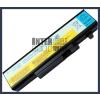 IdeaPad Y560A 4400 mAh 6 cella fekete notebook/laptop akku/akkumulátor utángyártott