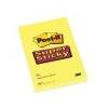 3M POSTIT Öntapadó jegyzettömb, 102x152 mm, 75 lap, vonalas, 3M POSTIT Super Sticky, sárga
