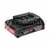 Bosch 18 V, 2,0 Ah akkukészlet Professional (1.600.Z00.036) barkácsszerszám