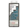 Bosch Robust Line CYL-9 MultiConstruction 7 részes többcélú fúró készlet (2607010543)