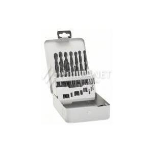Bosch Robust Line HSS-G fémfúró készlet 19 részes, fémkazettás (2607018726)