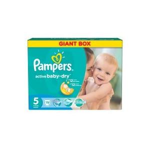 Pampers Active Baby 5 Junior Giant Box Pelenka, 78 db