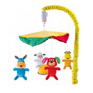 B-toys Happy Farm zenélő kiságyforgó