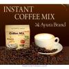 Ayura Herbal Cappuchino, instant, 10 tasak/doboz - Stéviával édesített és növényi tejjel készült