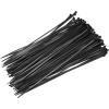 Extol Kábelkötegelő 2,5×150mm 100db, fekete nylon (Kábelkötegelő)