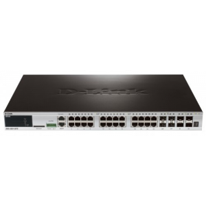 D-Link hálózati eszközök DGS-3420-28TC xStack Gigabit L2+ Stackable Managed Switches