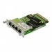 Cisco Four port 10/100/1000 Ethernet switch interface card w/PoE