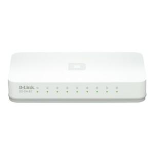 D-Link NET D-LINK GO-SW-8 nem menedzselt asztali 10/100 switch