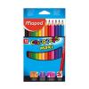 MAPED Color Peps Maxi 12 színû ceruzakészlet