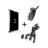 Tether Tools iPad Utility Mounting Kit w/ Wallee iPad 2 BLK & EasyGrip ST