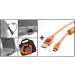 Tether Tools Starter Tethering Kit w/ USB 2.0 Mini-B 5 Pin Cable 15 ORG