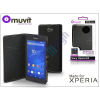 Sony Sony Xperia E4 (E2104/E2105) flipes tok - Made for Xperia Muvit Slim Folio - black