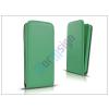 Slim Slim Flexi Flip bőrtok - Samsung SM-G920 Galaxy S6 - lime