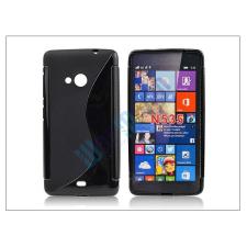 Microsoft Microsoft Lumia 535 szilikon hátlap - S-Line - fekete tok és táska
