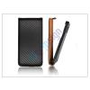 Slim Slim Flip Carbon bőrtok - Apple iPhone 6 - fekete