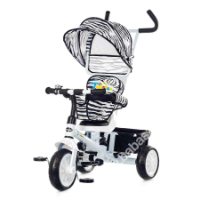 Chipolino Twister tricikli kupolával - White bébijárgány